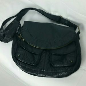 Vintage Lucky Brand leather fold over purse